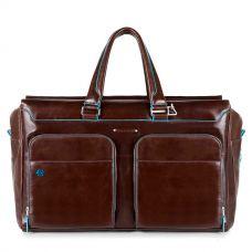 Дорожная сумка Piquadro Blue Square коричневая
