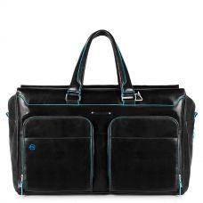 Дорожная сумка Piquadro Blue Square черная BV4342B2/N