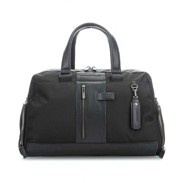 12ab38f65180 Дорожная сумка Piquadro Brief черная BV4447BR/N BV4447BR/N: купить ...