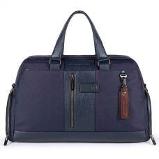Дорожная сумка Piquadro Brief 2 синяя