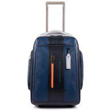 Дорожная сумка-рюкзак Piquadro Urban сине-серая
