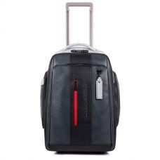 Дорожная сумка-рюкзак Piquadro Urban черно-серая BV4817UB00BM/GRN