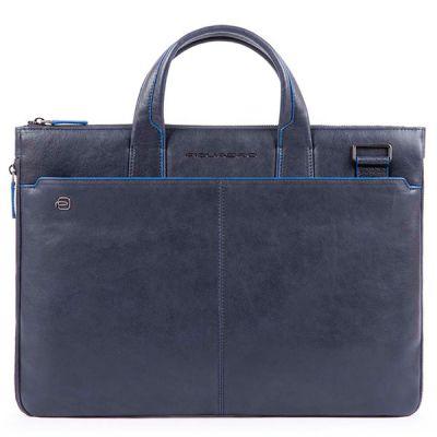 Сумка Piquadro Blue Square Special для документов и ноутбука синяя