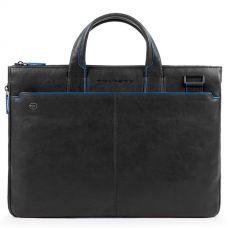 Сумка Piquadro Blue Square Special для документов и ноутбука черная