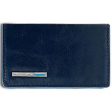 Чехол для визитных карт Piquadro Blue Square синий