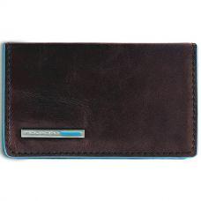 Чехол для визитных карт Piquadro Blue Square коричневый
