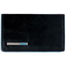 Чехол для визитных карт Piquadro Blue Square черный